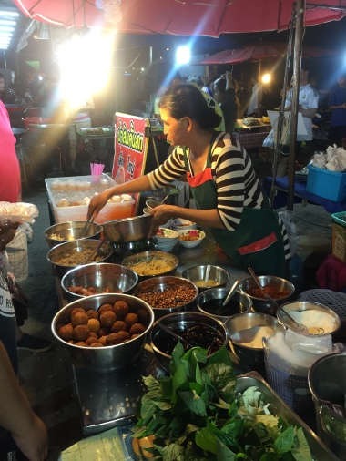 Night market yummies in Hua Hin.